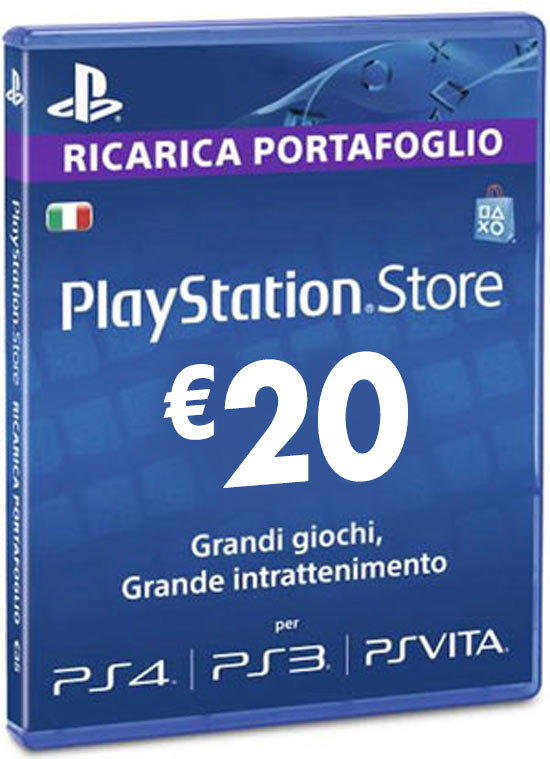Playstation Network Card €20