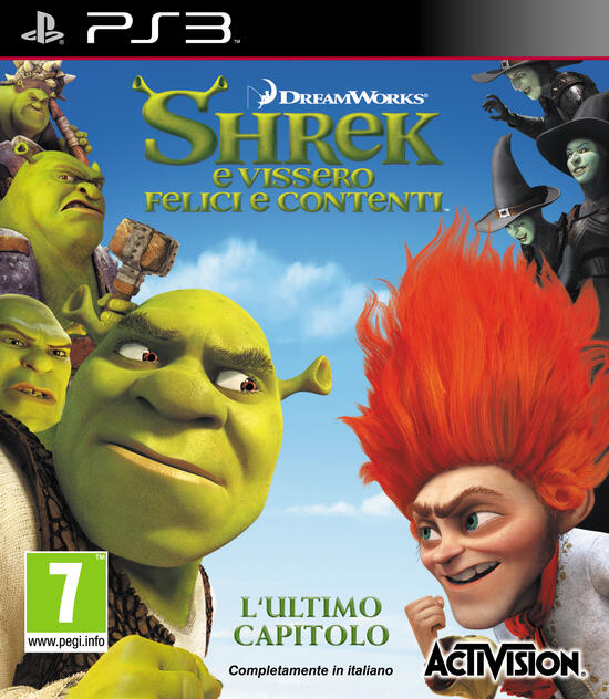 Shrek video porno