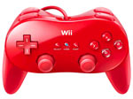Classic Controller Red