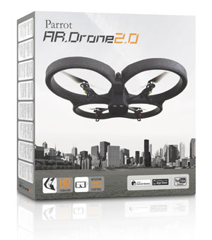 Parrot A.R.Drone 2.0 - The Flying Videogame