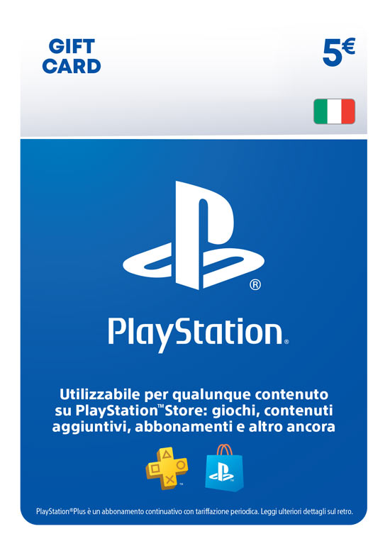 PlayStation Network Card 5€