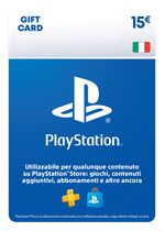 PlayStation Network Card 15€