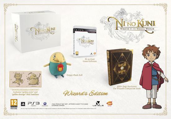 Ni No Kuni: La Minaccia della Strega Cinerea - Wizard's Collectors Edition