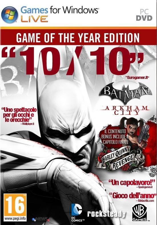 Batman Arkham City Goty Edition
