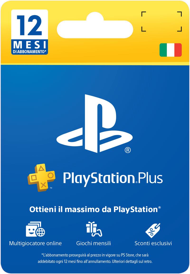 PlayStation Plus Card 12 Mesi (Fisico)