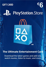 PlayStation Network Card 6€