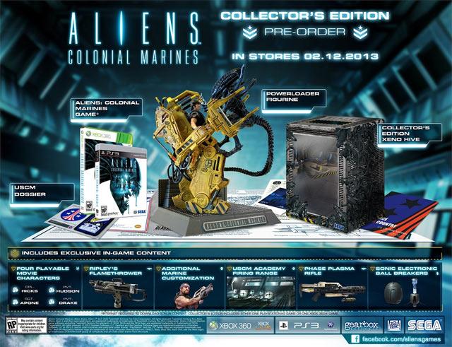 Aliens Colonial Marines - Collector's Edition Esclusiva GameStop