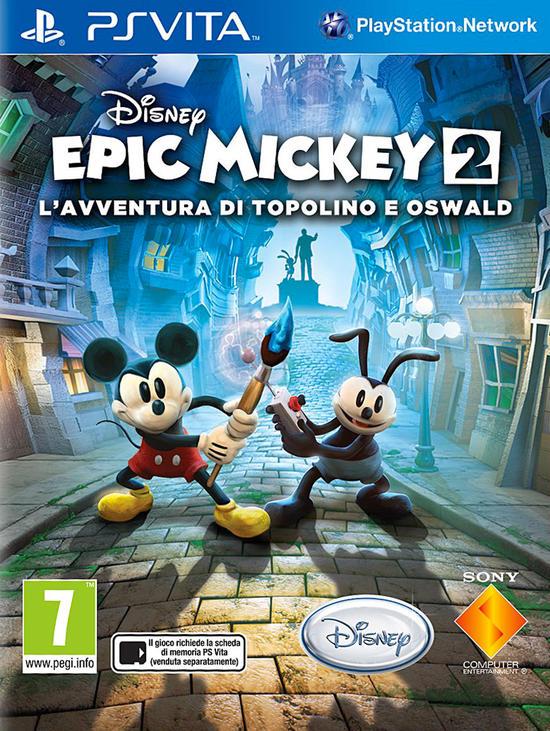 Disney Epic Mickey 2 Lavventura Di Topolino E Oswald Gamestop Italia