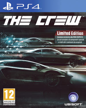The Crew Limited Edition Esclusiva GameStop