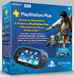 PSVita WiFi + Memory 8GB + PS Plus