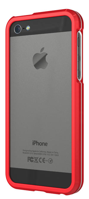gamestop iphone 5 bumper in alluminio per iphone 174 5 rosso gamestop italia 10689