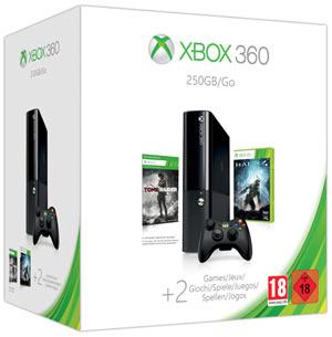 Xbox 360 250GB con Halo 4 + Tomb Raider