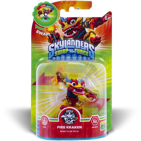 Skylanders SWAP Force - Fire Kraken