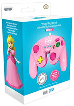 Controller Gamecube Limited Edition Peach per Wii U
