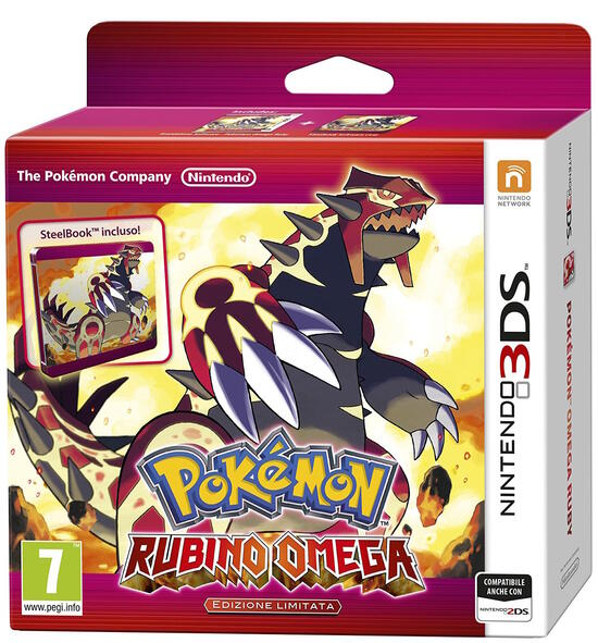 Pokémon Rubino Omega Limited Edition