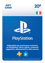 PlayStation Network Card 20€