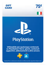 PlayStation Network Card 75€