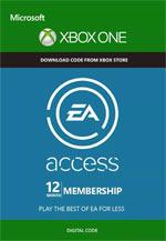 EA Access 12 Mesi XBOX One