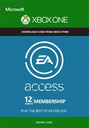 EA Access 12 Mesi XBOX One