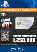 GTA Online - 1,250,000$ - Carta Prepagata Shark