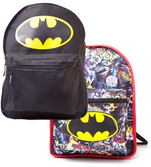 l'ultimo 420ad 9ddd4 Zaino Batman Reversible