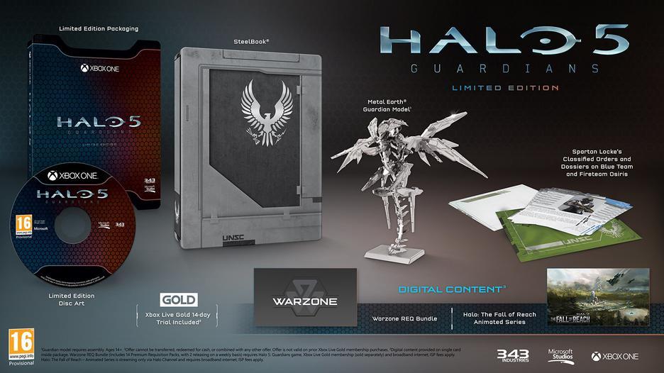 Halo 5 Guardians - Limited Edition | GameStop Italia