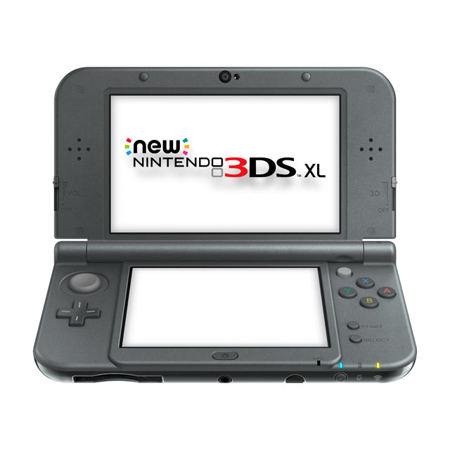 New Nintendo 3DS XL - Nero Metallizzato