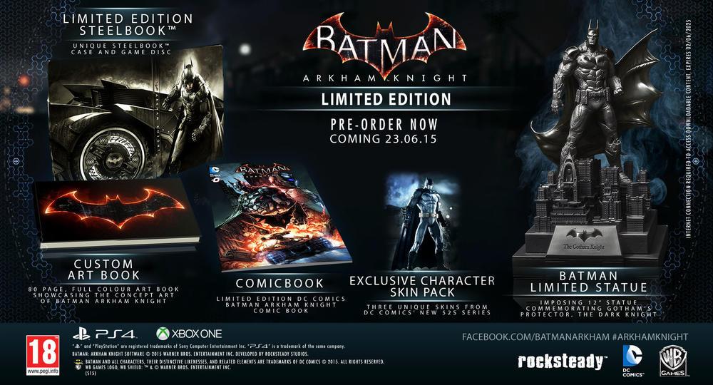 Batman Arkham Knight - Limited Edition | GameStop Italia