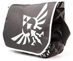 Borsa Zelda Nera con Logo