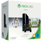 Xbox 360 500GB con Fable Anniversary + Plants vs Zombies Garden Warfare