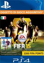 FIFA 15 - 2200 FUT Points PS4