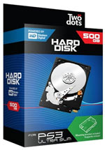 Hard Disk 500GB + Supporto PS3 Ultra Slim