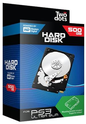 Hard Disk 500GB + Supporto PS3 Ultra Slim