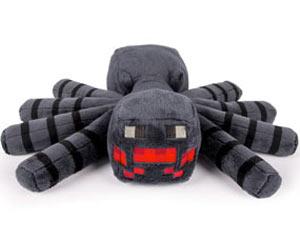 peluche spider minecraft