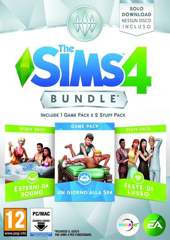 Sedia A Sdraio The Sims.The Sims 4 Bundle Pack Gamestop Italia