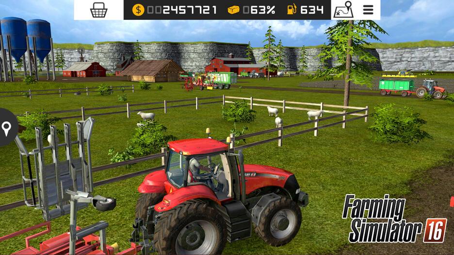 скачать игру Farming Simulator 2016 - фото 11