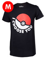 T-shirt Pokèmon - Pokeball I Choose You - Taglia M