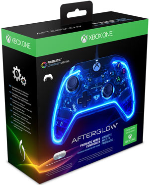 Wired Controller PDP - Afterglow Prismatic