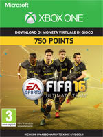FIFA 16 - 750 FUT Points XBOX One