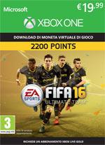 FIFA 16 - 2200 FUT Points XBOX One