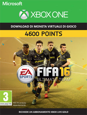 FIFA 16 - 4600 FUT Points XBOX One