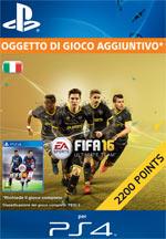 FIFA 16 - 2200 FUT Points PS4