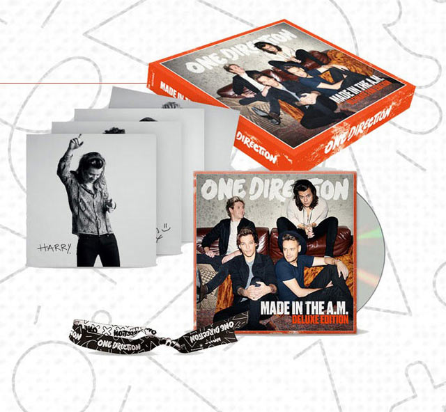 One Direction - Made in the A.M Super Deluxe Edition