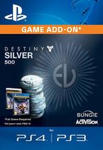 Destiny: Il Re dei Corrotti - 500 Monete Argento