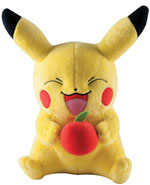 Peluche Pikachu con mela