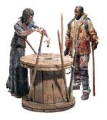 Action figure Walking Dead - Deluxe - Morgan Jones