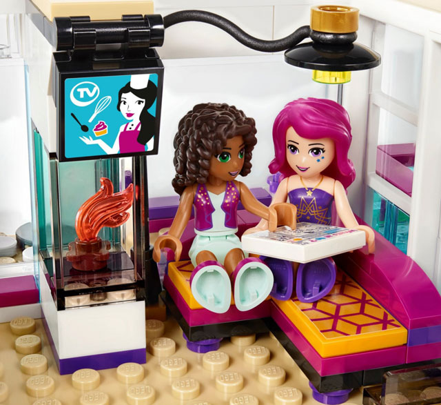 Lego friends la casa della pop star livi gamestop italia - Lego friends casa de livi ...