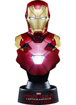 Busto Iron Man Mark XLVI - Captain America: Civil War