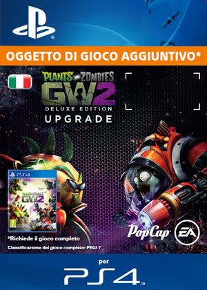 Plants Vs Zombies Garden Warfare 2 Deluxe Edition Upgrade Gamestop Italia