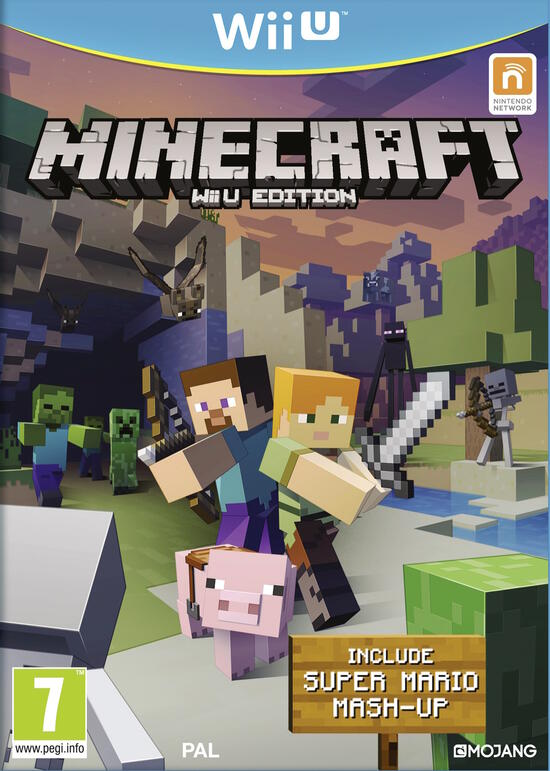 Minecraft per Wii U